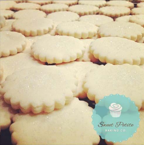 Sparkling Shortbread Cookies